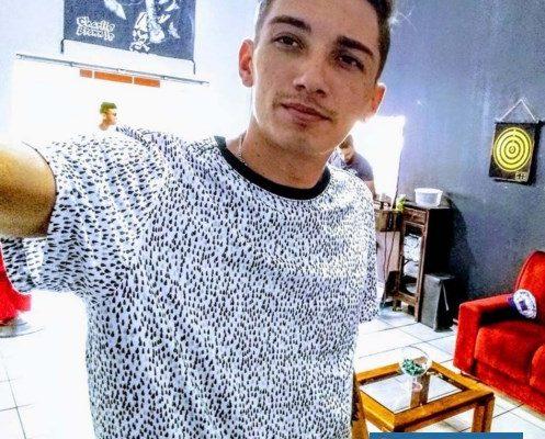 Lucas Caldato foi morto por ciúmes. Foto: DIVULGAÇÃO