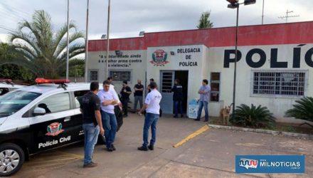 Ao todo, foram cumpridos um mandado de prisão preventiva e oito mandados de busca e apreensão. Fotos: Polícia Civil/Divulgação