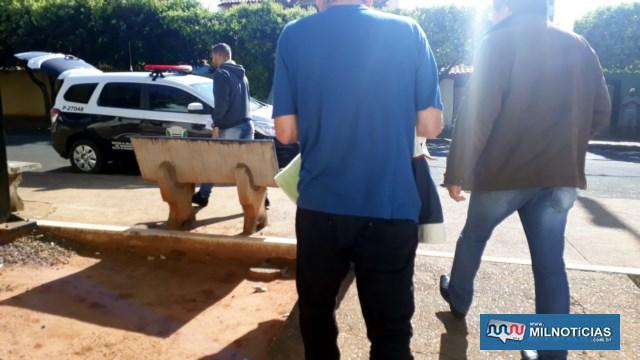 Acredita-se que a maior parte das armas pertençam ao rapaz de 29 anos. Foto: MANOEL MESSIAS/Agência