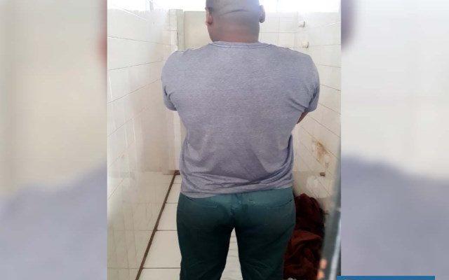 Soldador foi preso acusado de trafico de entorpecente e foi encaminhado para audiência de custódia. Foto: MANOEL MESSIAS/Agência