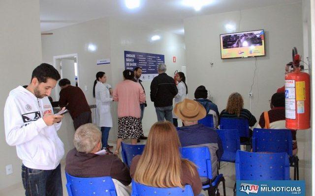 """Unidade Básica de Saúde """"Adilson Dantas da Silva"""" atende das 7h às 20h. Foto: Secom/Prefeitura"""