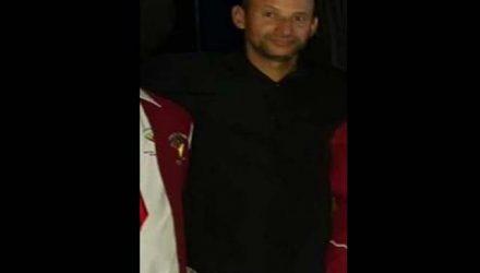 """Ademilson Gonçalves de Oliveira, o """"Careca"""", de 42 anos, residente na rua Holanda, no Jardim Europa, morreu após ser atingido por um portão. Foto: DIVULGAÇÃO"""