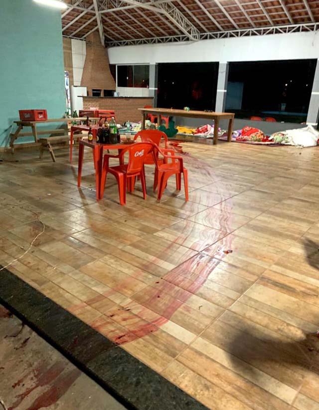Crime aconteceu durante confusão em uma chácara de Cândido Mota — Foto: Arquivo pessoal.