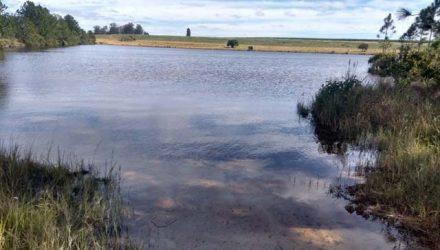 MPF pediu esvaziamento de barragem em Iaras (SP) — Foto: Rafael Honorato/TV TEM.