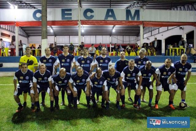 Equipe vice campeão do torneio, a fortíssima WWM. Foto: MANOEL MESSIAS/Agência