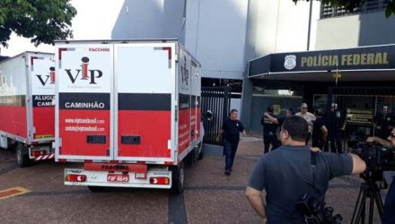 Operação foi coordenada pela Delegacia da PF em Araçatuba (Foto: Regional Press)