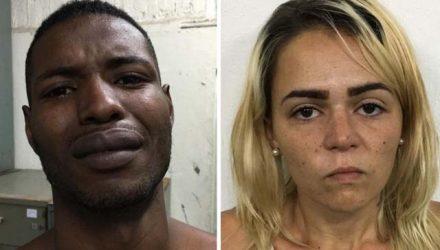 Rodrigo Jesus de França confessou o crime; Juliana Mayara Brito da Silva foi presa por omissão — Foto: Reprodução/PCERJ.