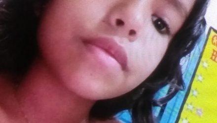 Francisca Jaqueline Almeida de 10 anos foi atingida com um tiro na cabeça — Foto: Arquivo pessoal.