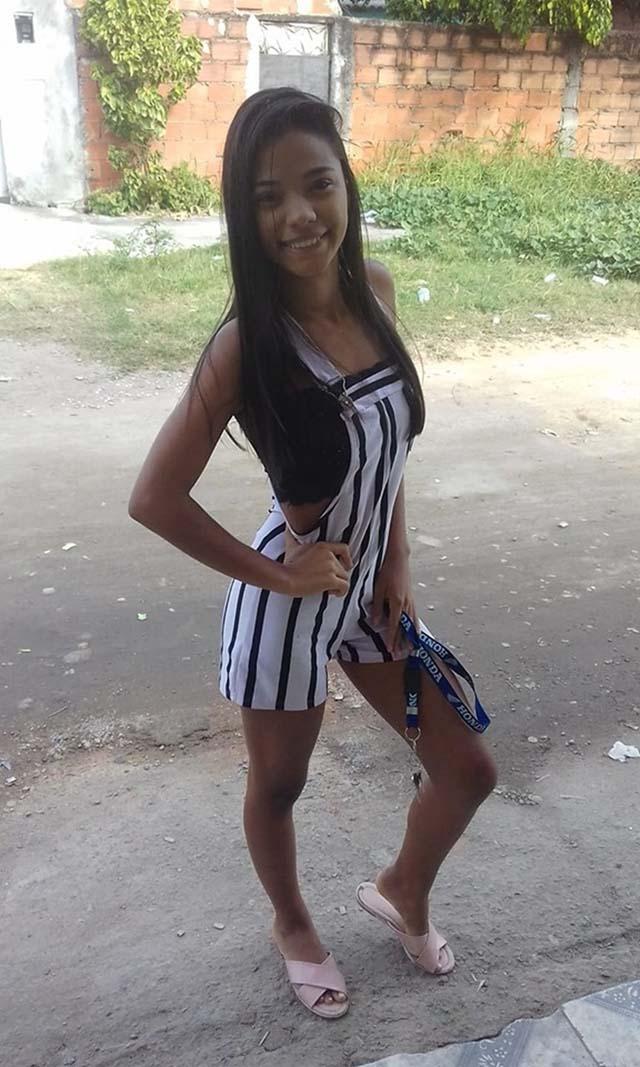 Margareth Teixeira, de 17 anos, morta em operação em Bangu, na Zona Oeste do Rio — Foto: Reprodução/ Redes sociais.