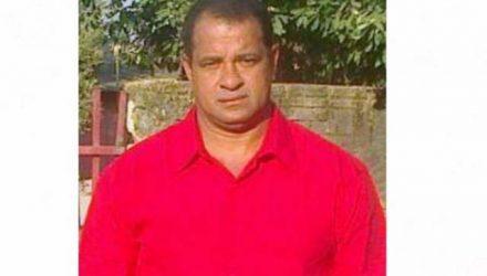 Luiz de Almeida, de 48 anos, foi assassinado em Colíder — Foto: Facebook/Reprodução.