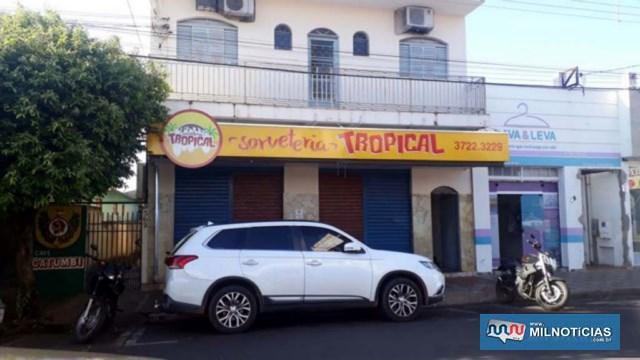 Sorveteria Tropical está localizada na rua Paes leme, próximo da rua José Bonifácio, centro. Foto: MANOEL MESSIAS/Agência
