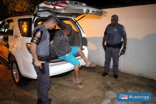 Serviços gerais foi indiciado pelo crime de tráfico de entorpecentes, permanecendo à disposição da justiça. Foto: MANOEL MESSIAS/Agência