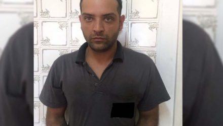 J. C. F., de 29 anos, foi indiciado e permaneceu recolhido, á disposição da Justiça. Foto: DIVULGAÇÃO