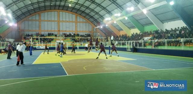 Competição acontece dos dias 06 a 08 de setembro no Ginásio Municipal. Foto: Secom/Prefeitura