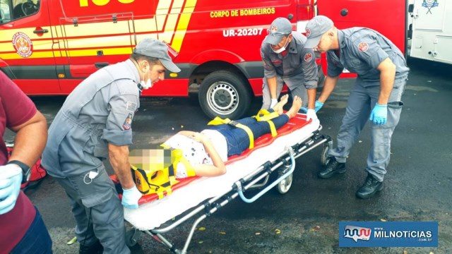 Adolescente reclamava de uma pancada nas costas, mas aparentemente não sofreu escoriações pelo corpo. Foto: MANOEL MESSIAS/Agência