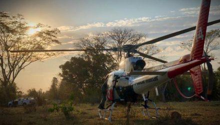 Segundo informações da Polícia Militar, até o helicóptero Águia foi deslocado para ajudar no local. Foto: Divulgação