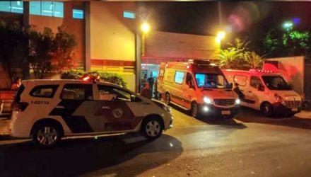 Vítima mais grave foi socorrida para a Santa Casa de Araçatuba. Foto: Thiago Augusto/RP10