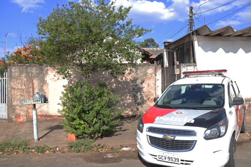Mãe da vítima mora na residência onde o crime ocorreu / Foto: Tainá Vétere