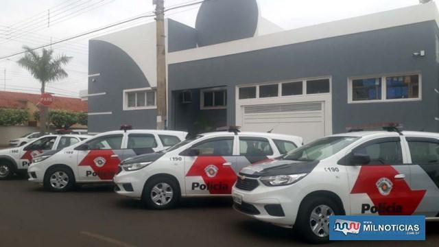 Imediações do prédio da Câmara foram cercados com várias viaturas da PM. Foto: MANOEL MESSIAS/Agência