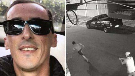 Marcelo Pereira Aguiar havia sido preso na terça-feira (24) em Paso de Los Libres, na fronteira da Argentina com o Brasil — Foto: Reprodução.