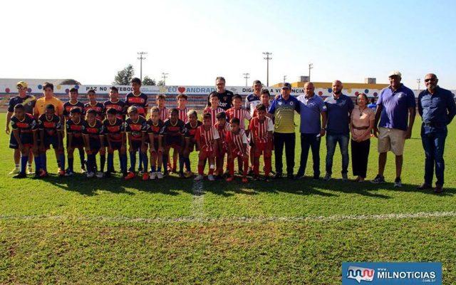 """Avaliação ocorreu no fim de semana no estádio municipal """"Evandro Brembatti Calvoso"""". Fotos: Secom/Prefeitura"""