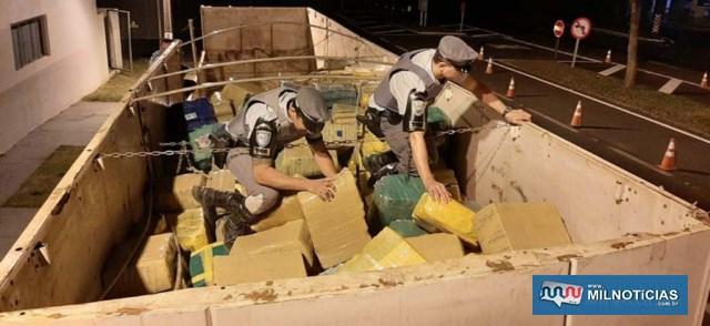 Fotos: Polícia Rodoviária/Divulgação