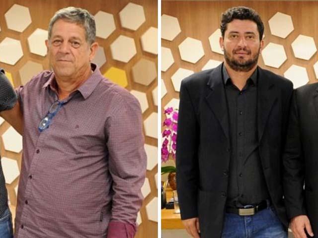 O presidente do Fefecê,, Oclécio Dultra e o vice-presidente Ricardo Saravali, foram presos pela Policia Federal em São Paulo. Foto: Divulgação