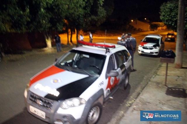 Polícia Militar esteve no local no dia do homicídio. Foto: MANOEL MESSIAS/Agência