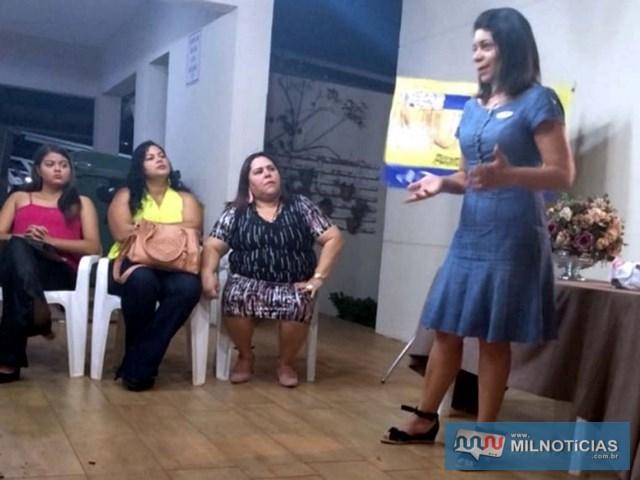 Reunião foi protagonizada por Leila Rodrigues (dir.). DIVULGAÇÃO