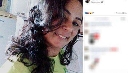 Luciene Ferreira Sena, de 39 anos, teve 80% do corpo queimado após ex atear fogo em carro em Pirassununga — Foto: Reprodução/Facebook