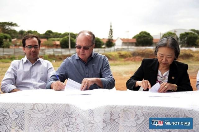 Empresa andradinense Concresp terá 8 meses para concluir a obra. Foto: Secom/Prefeitura