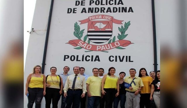 Evento para marcar o setembro amarelo aconteceu nas dependências da Delegacia Seccional de Andradina. Fotos: MANOEL MESSIASA/Agência