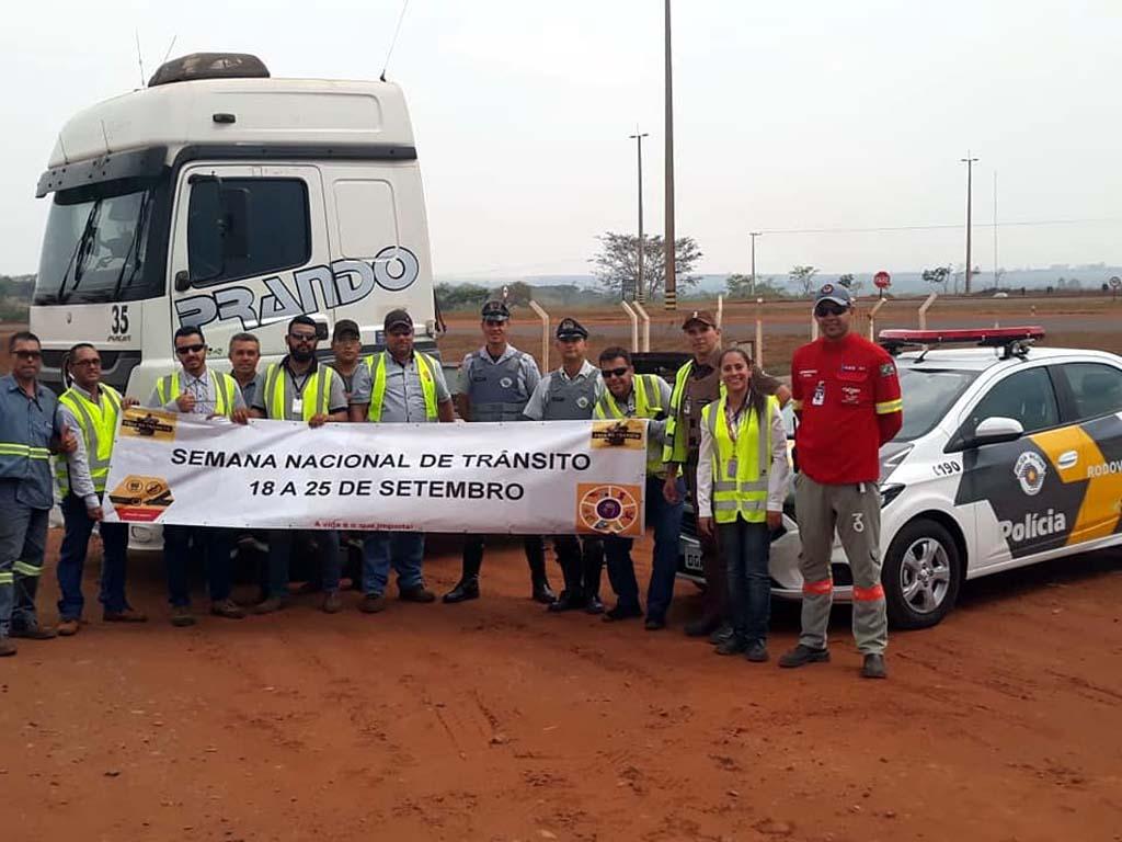 Também em Birigui foi realizada campanha semelhante. Foto: DIVULGAÇÃO