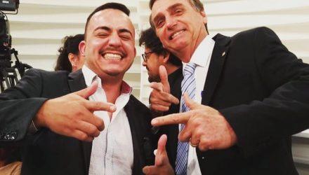 Sodario é o primeiro prefeito eleito pelo PSL desde que Bolsonaro tomou posse, em janeiro deste ano. (Foto: Reprodução/Facebook/Everton Sodario)
