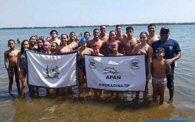 Andradinenses competiram e conquistaram vice-liderança na classificação geral. Foto: Secom/Prefeitura
