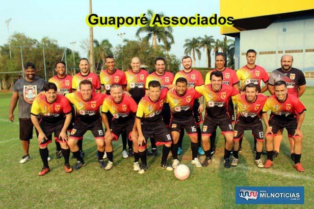Time do Guaporé Associados. Foto: MANOEL MESSIAS/Mil Noticias