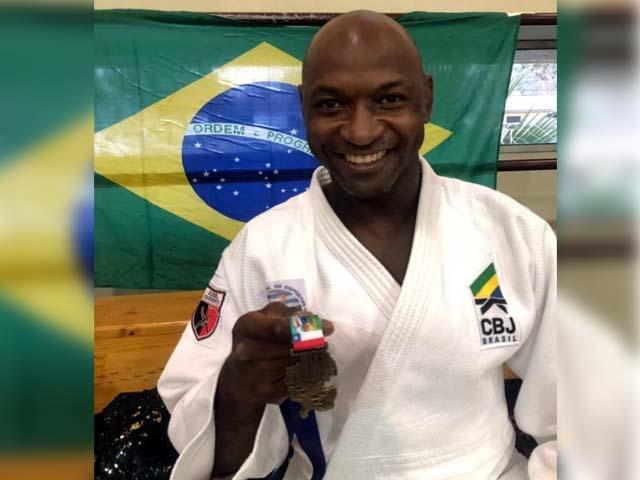 O judoca Mario Sabino Júnior foi assassinado, na noite de sexta-feira, em Bauru. Foto: Reprodução