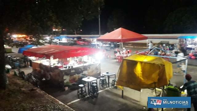 Feira livre que era em frente do cemitério, será agora na praça do Stella Maris. Foto: MANOEL MESSIAS/Agência