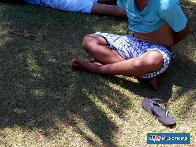 Acusado do homicídio, bem como o comparsa que deu fuga após o crime, foram presos pela Polícia Civil. Foto: DIVULGAÇÃO