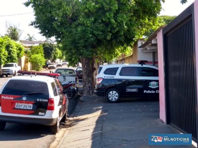 Bar onde ocorreu o assassinato de Renato Câmera Francisco, 30 anos, em Mirandópolis. Foto: DIVULGAÇÃO
