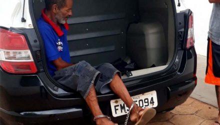 Pedrinho Matador foi preso acusado de furtar celular de uma médica, quando procurou atendimento na UPA. Foto: MANOEL MESSIAS/Agência