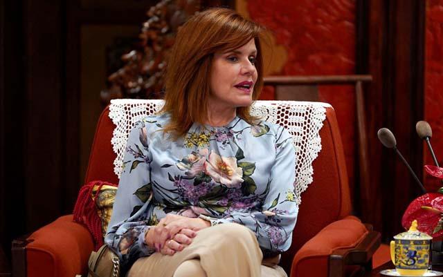 Mercedes Araoz foi nomeada pelo Congresso como presidenta interina do Peru — Foto: Andrea Verdelli / Pool / via REUTERS