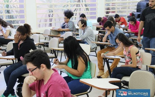 Prova acontece na Escola Municipal Anna Maria Marinho Nunes. Portões serão abertos às 8h20. Foto: Secom/`refeitura