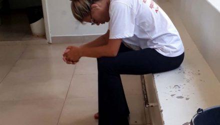 Acusada foi indiciada por tráfico de entorpecente e recolhida à penitenciária de Tupi Paulista. Foto: MANOEL MESSIAS/Agência