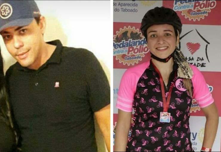 O correto de imóveis Fernando Enrique Freitas e a Regianni Araujo, de 32, assassinados pelo policial Lúcio Roberto Queiroz Silva — Foto: Facebook / Reprodução.