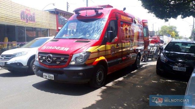Corpo de Bombeiros foi acionado, mas vítimas recusaram encaminhamento até a unidade de saúde. Foto: MANOEL MESSIAS/Agência