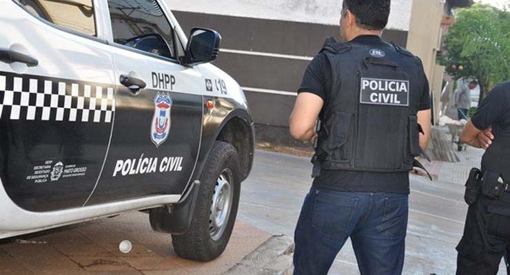 Suspeitos de morte foram presos pela Polícia Civil — Foto: Polícia Civil de Mato Grosso/Assessoria.