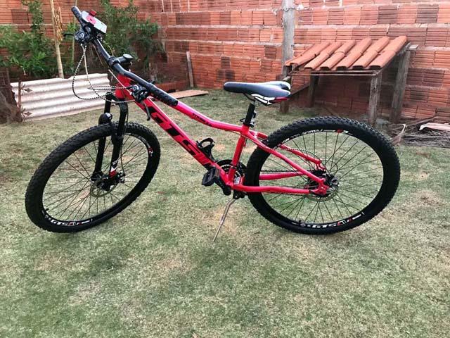 Bicicleta furtada é de auto valor e foi devolvida ao proprietário. Foto: DIVULGAÇÃO