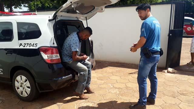 Nicolau foi indiciado por furto e permaneceu à disposição da justiça. Foto: MANOEL MESSIAS/Agência