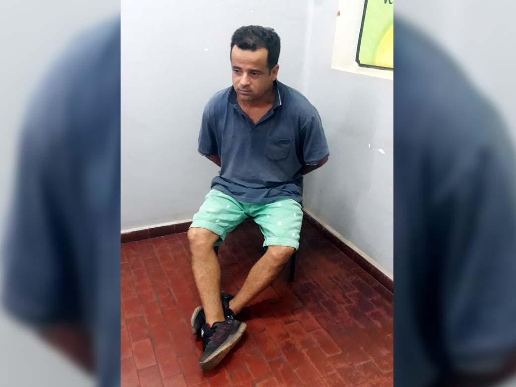 """""""Nenzinho"""" foi indiciado por receptação, mas vai responder ao processo em liberdade. Foto: MANOEL MESSIAS/Agência"""